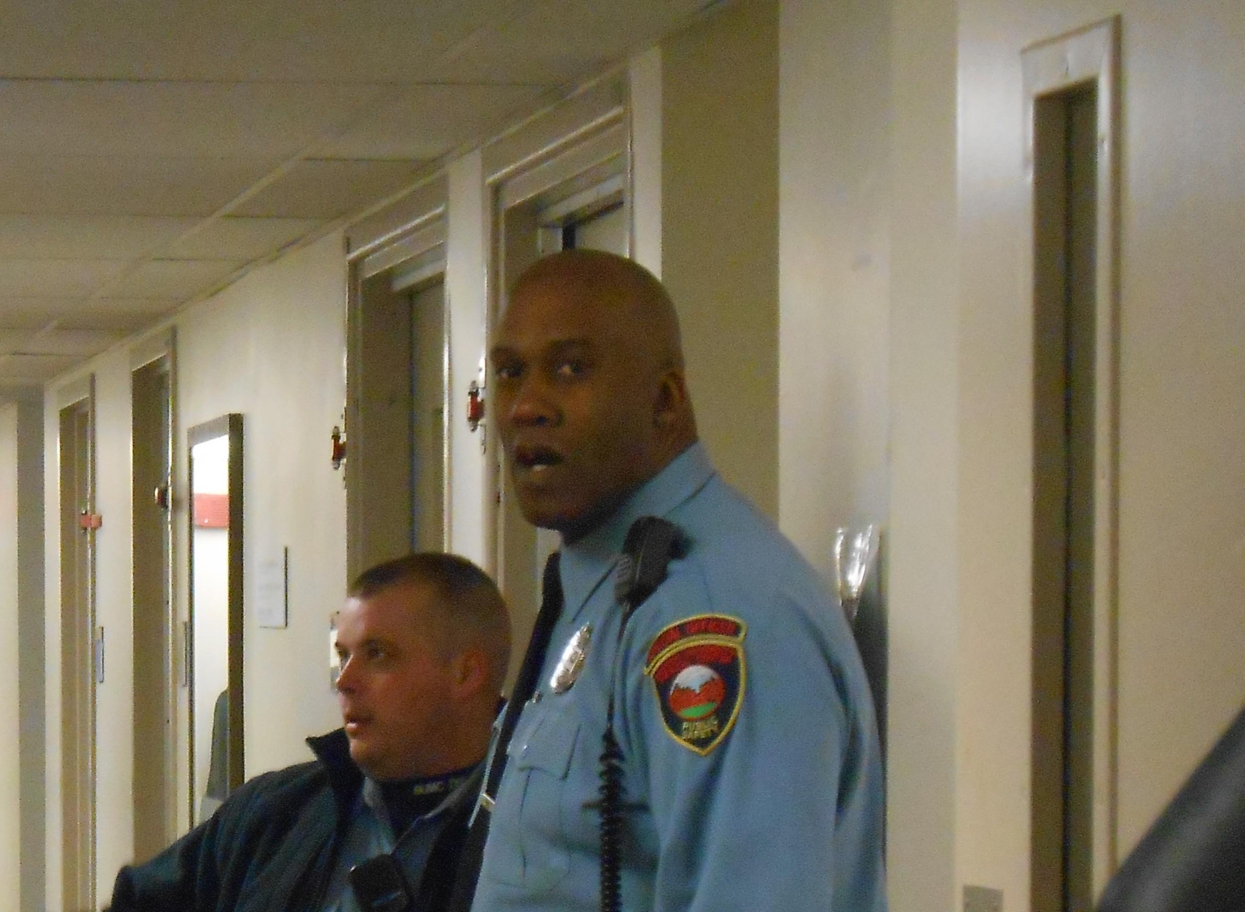 Boston medical center security